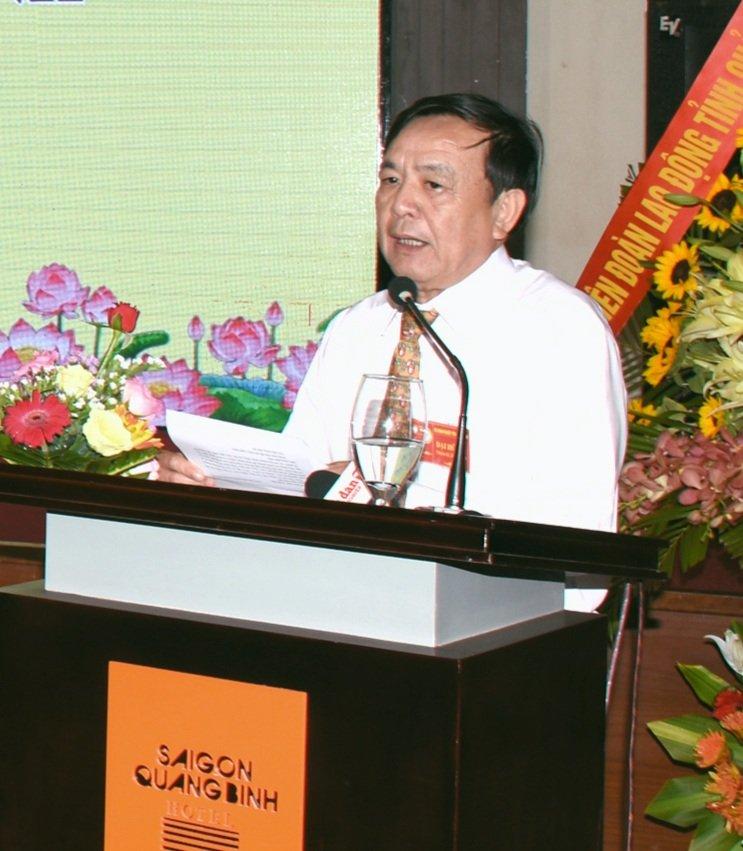 Ông Lê Thuận Văn - Chủ tịch hội doanh nghiệp tỉnh Quảng Bình