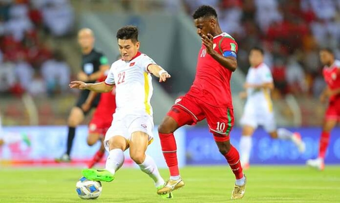 Tiến Linh lại ghi bàn nhưng chưa đủ để Việt Nam kiếm điểm đầu tiên.