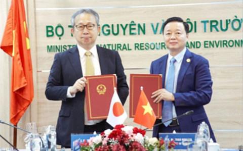 Việt Nam-Nhật Bản: Hợp tác về tăng trưởng các-bon thấp giữa hai chính phủ