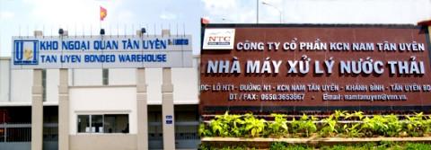 Quý III, lãi sau thuế của KCN Nam Tân Uyên còn một nửa