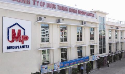 Dược Trung ương Mediplantex bị phạt hàng trăm triệu vì sai phạm trong chứng khoán