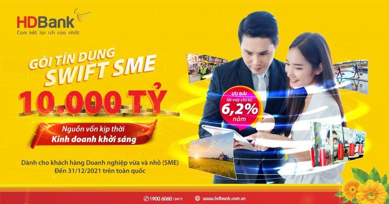 Hàng loạt gói vay siêu rẻ, lãi suất chỉ từ 4,99% dành cho doanh nghiệp SME và hộ kinh doanh