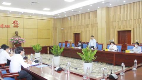 Đoàn công tác Ủy ban Văn hóa - Giáo dục của Quốc hội làm việc với UBND tỉnh Nghệ An
