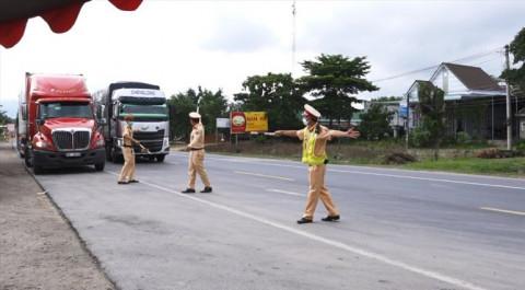 Dừng hoạt động các chốt kiểm soát dịch Covid-19 trên quốc lộ 1A qua Bình Thuận