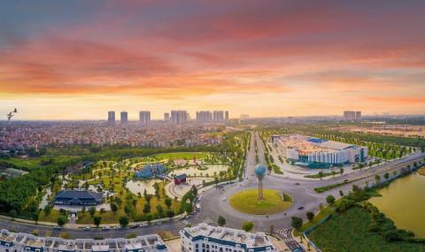 """""""Thành phố Tây"""" giữa lòng Thủ đô – tọa độ của cộng đồng quốc tế"""