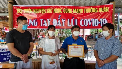 Phú Quốc: Bếp thiện nguyện đồng hành giúp người dân vượt qua dịch Covid-19