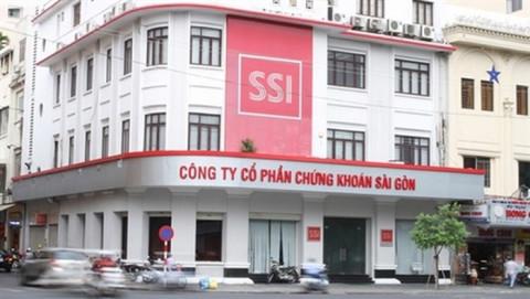 Lãi hợp nhất 9 tháng của Chứng khoán SSI vượt 2.000 tỷ đồng