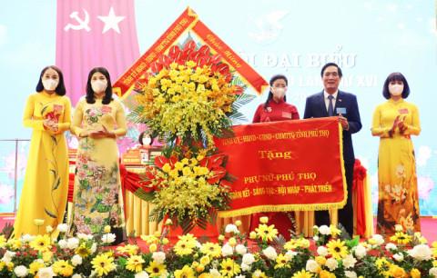Đại hội Hôi liên hiệp Phụ nữ tỉnh Phú Thọ lần thứ XVI, nhiệm kỳ 2021 - 2026