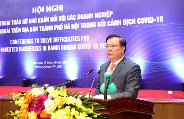 Hà Nội đối thoại tháo gỡ khó khăn cho doanh nghiệp FDI