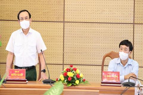"""Bí thư Thành ủy Nguyễn Văn Nên: """"Cảm ơn Đảng bộ, nhân dân tỉnh Đồng Tháp"""""""