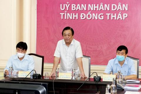 """Bộ trưởng Lê Minh Hoan: """"Không có tinh thần hợp tác thì không có hợp tác xã"""""""