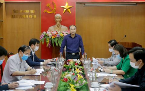 Phú Thọ họp Ban chỉ đạo Hội thi báo cáo viên, tuyên truyền viên giỏi cấp tỉnh năm 2021
