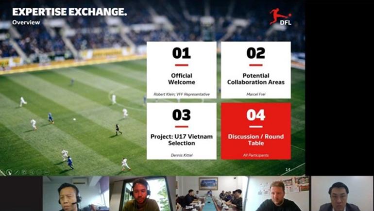 LĐBĐVN thảo luận với Bundesliga: Hợp tác phát triển bóng đá Việt Nam