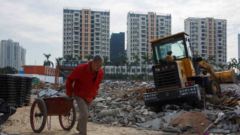 Thị trường nhà đất Trung Quốc đóng băng