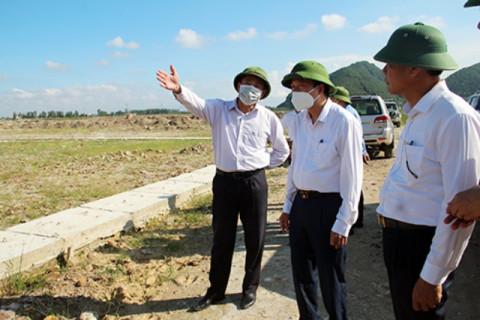 Lãnh đạo tỉnh Nghệ An yêu cầu huyện Hưng Nguyên bàn giao mặt bằng Dự án cao tốc Bắc - Nam đúng tiến độ