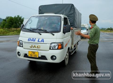 Khánh Hòa: Được phép hoạt động vận tải hàng hóa trở lại bình thường ở các cấp độ dịch