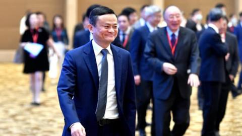 Cổ phiếu Alibaba tăng vọt sau khi Jack Ma xuất hiện ở châu Âu