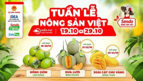 Phục hồi kinh tế sau dịch: Đẩy mạnh hoạt động tiêu thụ nông sản Việt trực tuyến