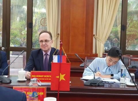 Dư địa phát triển hợp tác thương mại nông sản giữa Liên bang Nga và Việt Nam còn rất lớn