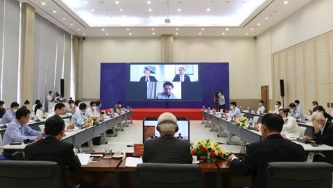Tỉnh Bình Dương tổ chức hội nghị trực tuyến với lãnh đạo, chuyên gia thành phố Eindhoven, Hà Lan