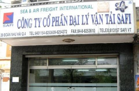 Đại lý Vận tải SAFI hạ sở hữu tại Container Việt Nam xuống còn 7%
