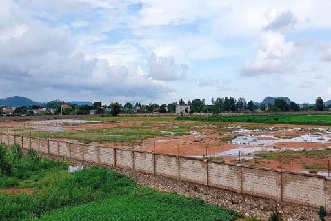 Thanh Hóa: Kiên quyết thu hồi đất một số dự án cố tình chây ỳ