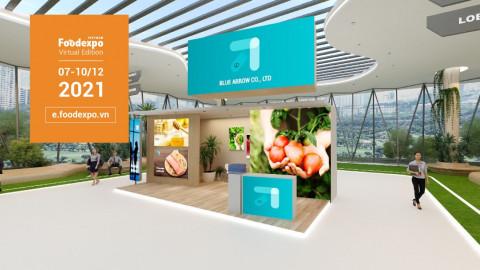 Triển lãm trực tuyến Vietnam Foodexpo 2021 - kết nối giao thương trên nền tảng số