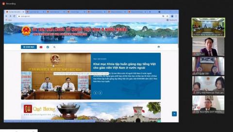 """Ra mắt trang thông tin điện tử của """"Uỷ ban Nhà nước về Người Việt Nam ở nước ngoài"""""""