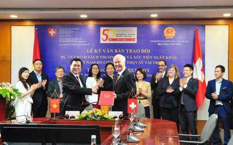 Thụy Sỹ cam kết hợp tác lâu dài trong phát triển thương mại với Việt Nam