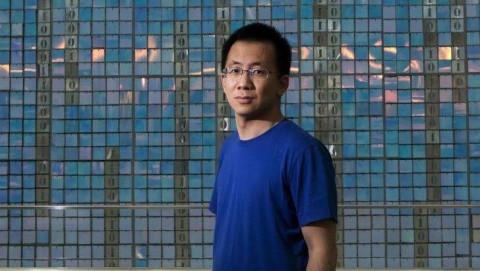 Tỷ phú Zhang Yiming trở thành người giàu nhất trong lĩnh vực Internet của Trung Quốc