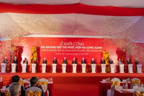 Quảng Ninh: Lễ khởi công Dự án Khu đô thị phức hợp Hạ Long xanh