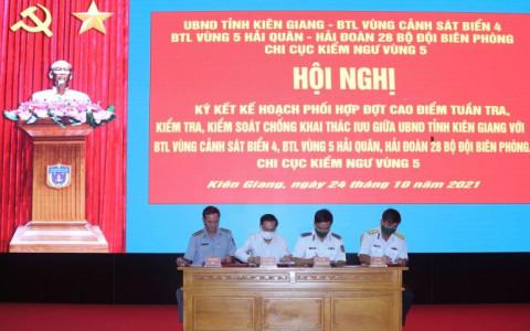 Kiên Giang mở đợt cao điểm tuần tra, kiểm tra, kiểm soát chống khai thác vi phạm IUU