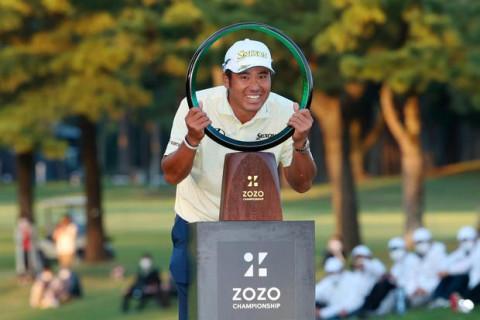 Golfer người Nhật Bản Hideki Matsuyama giành ngôi vô địch giải Zozo Championship