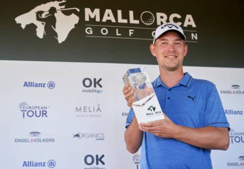 Golfer Đan Mạch Jeff Winther vô địch Mallorca Golf Open