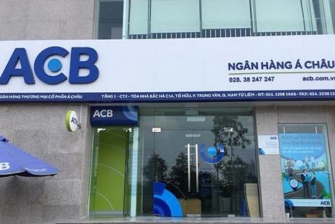 Quý III, Ngân hàng Á Châu ACB đã trích dự phòng gấp 5 lần
