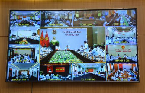 Phú Thọ: Phát huy hiệu quả hệ thống truyền hình trực tuyến 3 cấp