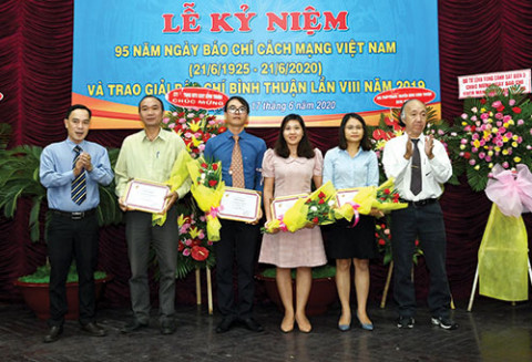 Báo Bình Thuận kỷ niệm 45 năm ngày thành lập