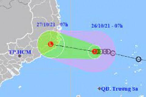 Khánh Hòa: Chủ động bám sát tình hình của áp thấp nhiệt đới để ứng phó phù hợp