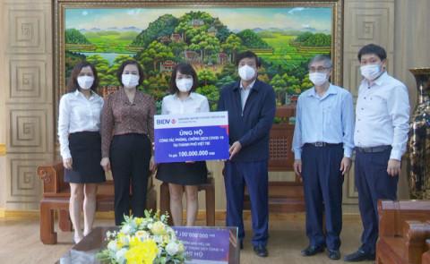 Phú Thọ: Tiếp nhận trên 470 triệu đồng ủng hộ phòng chống dịch COVID-19