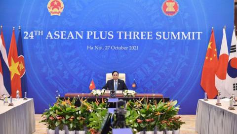Đề nghị Trung Quốc, Nhật Bản, Hàn Quốc hỗ trợ tiếp cận và chuyển giao công nghệ sản xuất vắc xin, thuốc điều trị Covid-19 cho ASEAN