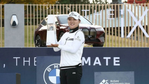 Nữ golfer người Hàn Quốc Ko Jin Young lên ngôi vô địch BMW Ladies Championship